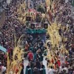 Procesiones en Valladolid Domingo de Ramos 2020
