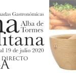 Jornadas de Cocina Carmelitana verano 2020 Alba de Tormes
