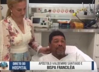 Apóstolo Valdemiro Santiago postou vídeo sobre ataque em culto | Foto: Reprodução