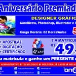 ON BYTE – Agora em São Pedro da Aldeia o curso de Designer Gráfico. MATRÍCULAS ABERTAS!