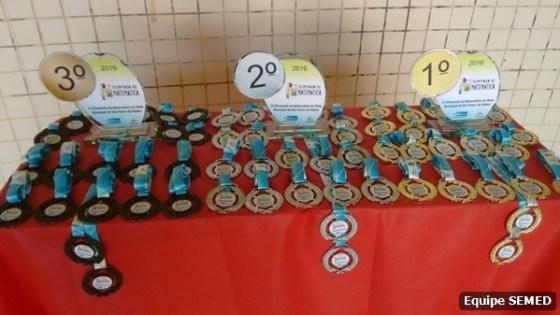 1ª Olimpíada Municipal de Matemática 2