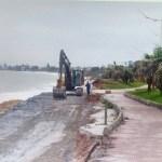 REGIÃO DOS LAGOS – Obras são retomadas em praia de Rio das Ostras após paralisação