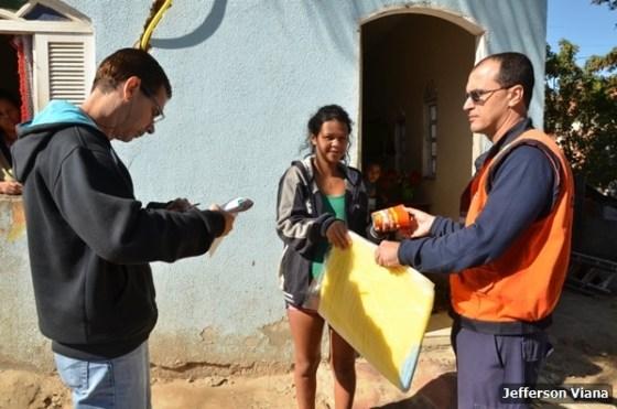 Prefeitura aldeense realiza ação contra Aedes Aegypiti e entrega material para prevenção 4