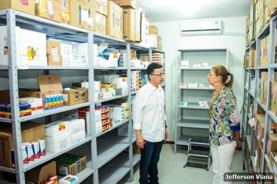 novas sedes do Centro de Especialidades Odontológicas Dr. Maninho Milagres (CEO) e da Farmácia Municipal