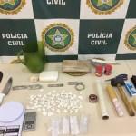 AÇÕES POLICIAIS – Três homens são presos com drogas e balança de precisão em Saquarema