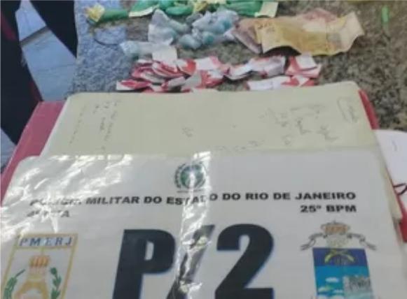 Drogas apreendidas em São PEdro da Aldeia