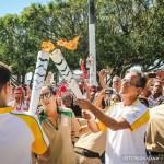 Passagem da Tocha Olímpica por São Pedro da Aldeia é marcada por emoção