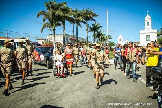 Passagem da Tocha Olímpica por São Pedro da Aldeia1