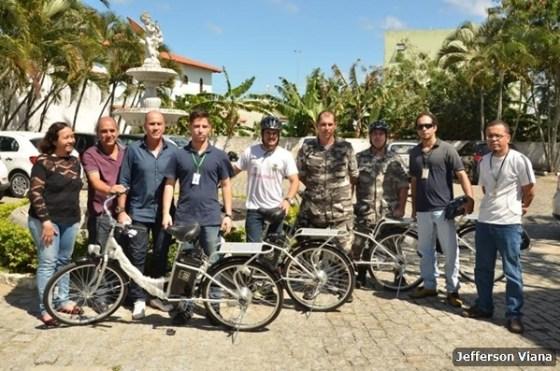 Prefeitura aldeense adquire bicicletas elétricas para fiscalização 2