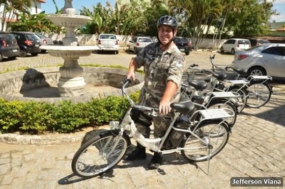 Prefeitura aldeense adquire bicicletas elétricas para fiscalização