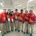 Fisioterapeuta Aldeense Cláudio Barros Queiroz conta como foi sua participação como voluntário das Olimpíadas do Rio 2016