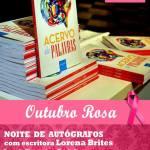 """CABO FRIO – Escritora realiza noite de autógrafos em prol das """"Amigas da Mama"""""""