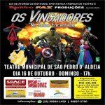 """EVENTO – Teatro Municipal de São Pedro da Aldeia apresenta """"Os Vingadores no Reino Encantado"""""""