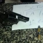 AÇÕES POLICIAIS – Suspeito de assalto é detido com revólver em Cabo Frio