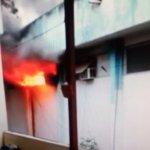 CABO FRIO – Incêndio destrói documentos no 25º Batalhão da PM em Cabo Frio