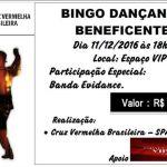 EVENTO – Cruz Vermelha Brasileira realizará, no próximo dia 11, um Bingo Dançante Beneficente, em São Pedro da Aldeia
