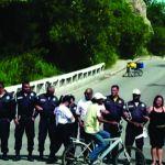 CABO FRIO – Guardas fecham ponte em Cabo Frio para reivindicar pagamento de salários