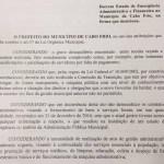 CABO FRIO – Cabo Frio decreta emergência financeira e fará compras sem licitação