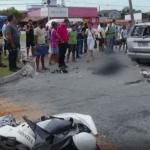 ACIDENTE – Motociclista morre ao bater em carro na RJ-106, em Rio das Ostras