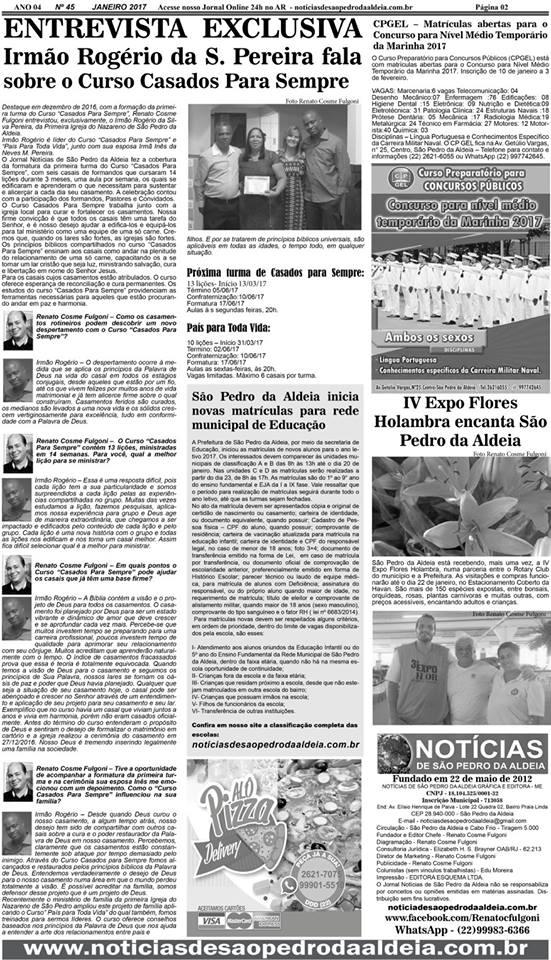 Notícias de São Pedro da Aldeia 1