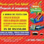 QUINTAL DA DIVERSÃO – ALUGUE NOSSO ESPAÇO PARA SUA FESTA