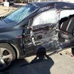 ACIDENTE – Filho de Fátima Bernardes e William Bonner sofre acidente de carro
