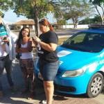 RIO DAS OSTRAS – Parentes de PMs protestam em frente à Companhia em Rio das Ostras; policiamento é normal