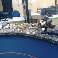 AÇÕES POLICIAIS – Polícia Militar recupera mercadorias roubadas na Joalheria do Shopping no valor estimado em 200 Mil Reais