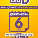 SAÚDE – São Pedro da Aldeia vai realizar Dia D Contra a Febre Amarela