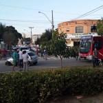 ACIDENTE – Carro se envolve em acidente na tarde desta terça em Cabo Frio