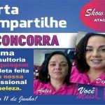 SHOW BELEZA ATACADÃO – Promoção Dia dos Namorados; Curta nossa página e compartilhe para concorrer uma consultoria e maquiagem completa feita pela nossa profissional da beleza.