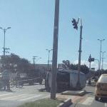 ACIDENTE – Três pessoas ficam feridas em acidente na Rodovia Amaral Peixoto, em Rio das Ostras