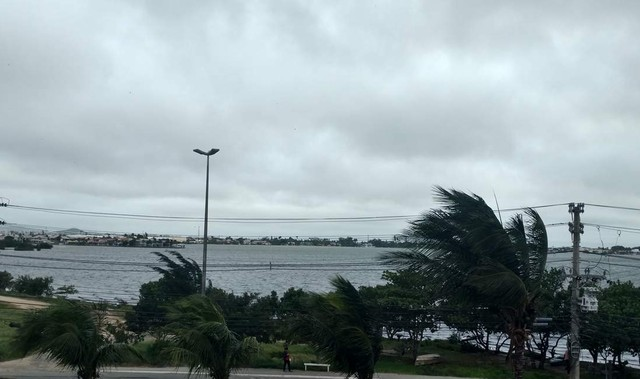REGIÃO DOS LAGOS - Frente fria na Região dos Lagos se intensifica nas próximas horas, diz Inmet
