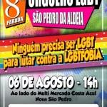 SÃO PEDRO DA ALDEIA TERÁ 8ª PARADA DO ORGULHO LGBT NESTE DOMINGO (6)