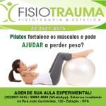 FISIOTRAUMA – Pilates fortalece os músculos e pode ajudar a perder peso?