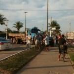 ACIDENTE – Quatro pessoas ficam feridas em acidente entre dois carros e caminhão em Cabo Frio