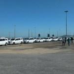CABO FRIO – Taxistas fazem manifestação em Cabo Frio e pedem aprovação de lei que regulamenta aplicativos
