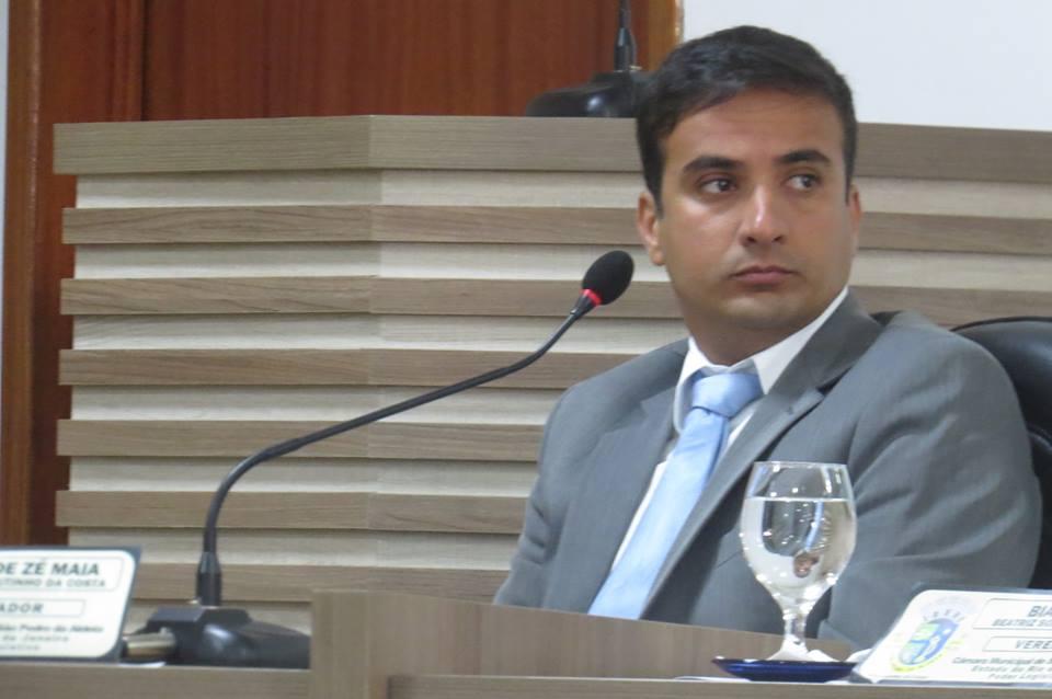 Vereador Vitinho indica ao prefeito Chumbinho a criação de cargos Psicopedagogo nos quadros da Prefeitura Municipal
