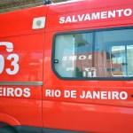 ACIDENTE – Capotamento deixa quatro feridos na RJ-124, em Araruama