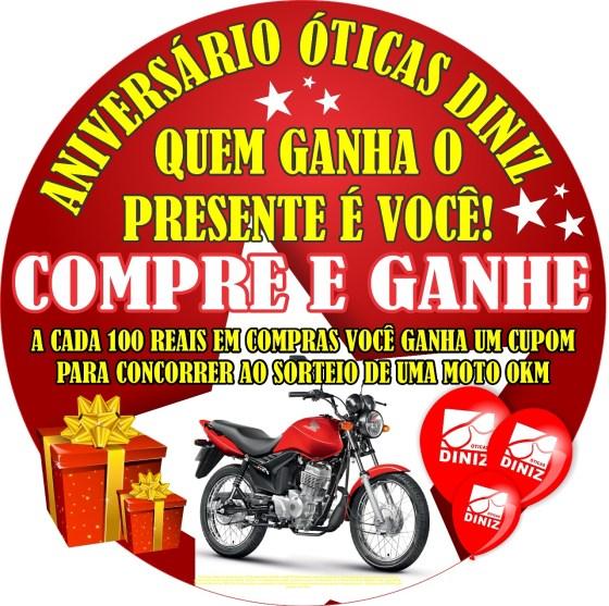 faf3a6b06d598 Óticas Diniz de São Pedro da Aldeia lança promoção de aniversário ...