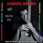 EVENTO – Cantor e compositor Gabriel Moura se apresenta noTeatro Municipal de São Pedro da Aldeia