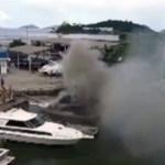 REGIÃO DOS LAGOS – Lancha explode e deixa feridos em Macaé
