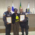 SÃO PEDRO DA ALDEIA – Guarnição do PAMESP ESCOLAR recebe Moção de Aplausos na Câmara Municipal