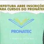 SÃO PEDRO DA ALDEIA – PREFEITURA ABRE INSCRIÇÕES PARA CURSOS DO PRONATEC NESTA TERÇA-FEIRA (17)