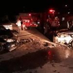 ACIDENTE – Dois se ferem em acidente com três carros na RJ-106, em Saquarema