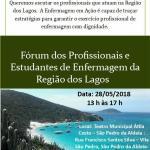 COREN – São Pedro da Aldeia recebe Fórum dos Profissionais e Estudantes da Região dos Lagos