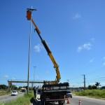 SÃO PEDRO DA ALDEIA – Prefeitura de São Pedro da Aldeia realiza manutenção de iluminação pública em pontos da Rodovia RJ-140
