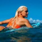 SAQUAREMA – Estrutura para o Mundial de Surfe começa a ser montada na praia de Itaúna