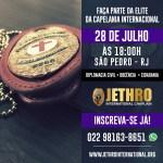 JETHRO INTERNATIONAL CHAPLAIN – Inscrições abertas para o curso de Capelania Internacional com ênfase em Inteligência Espiritual, em São Pedro da Aldeia