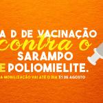 SAÚDE – São Pedro da Aldeia realiza Dia D de vacinação contra pólio e sarampo neste sábado (18)